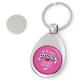 Porte clés jeton de caddie Assistante maternelle