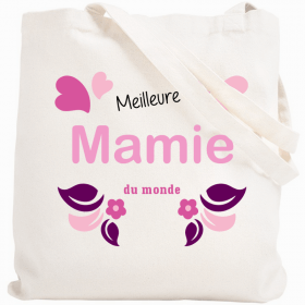 Tote bag meilleure mamie