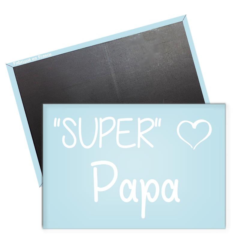 Magnet papa - idée cadeau original papa - aimant frigo papa