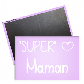 Magnet maman - idee cadeau maman - angora - Em création