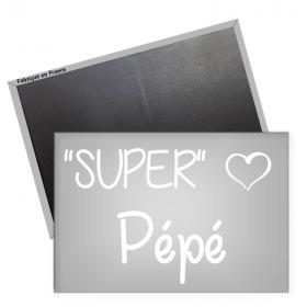 Magnet Super Pépé - angora - Em création