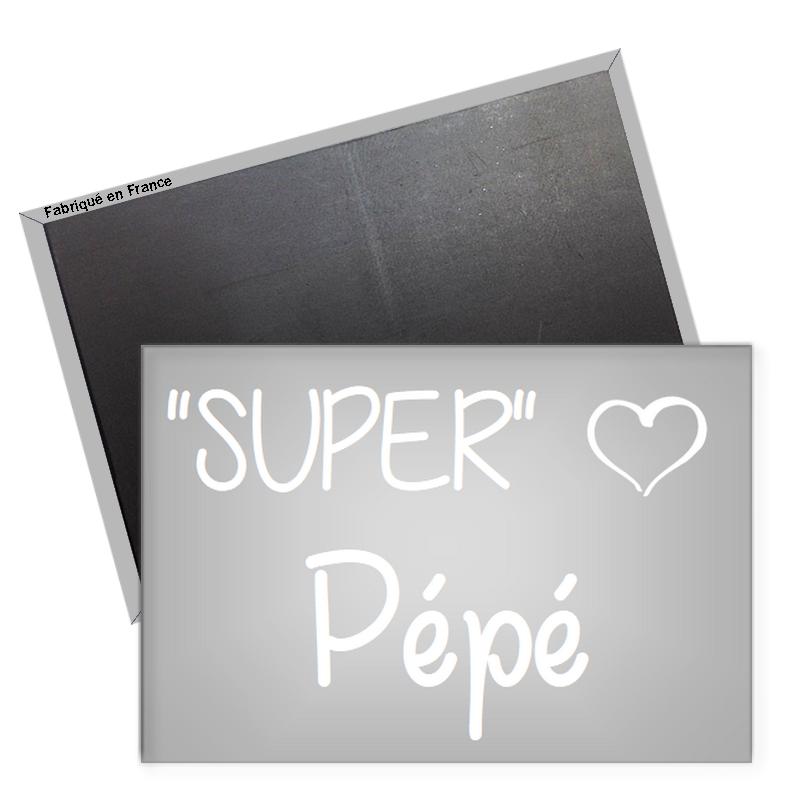 Magnet Super Pépé - angora