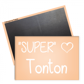 Magnet Super Tonton - Angora - Em création