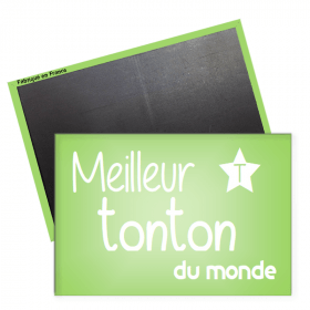 Magnet tonton - magnet rectangle Tonton - Angora