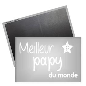 Magnet papy - magnet frigo papy - Cadeau papy - Angora - Em création