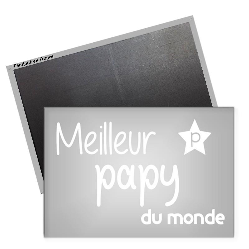 Magnet papy - magnet frigo papy - Cadeau papy - Angora