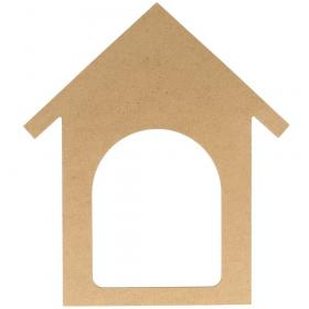 Silhouette maison à décorer - artemio - Em création