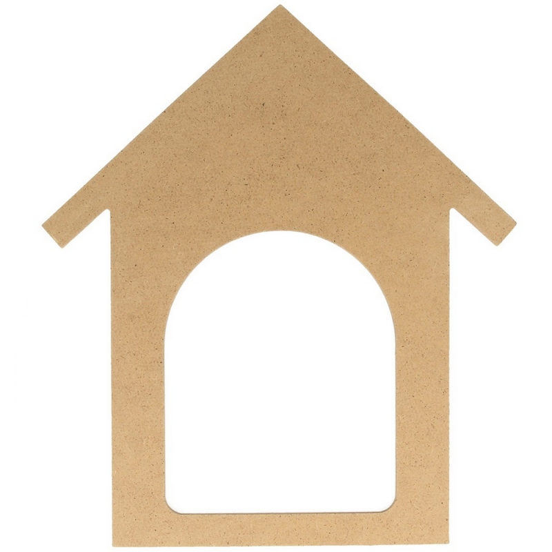 Silhouette maison à décorer - artemio