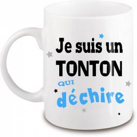 Mug Tonton qui déchire - Angora - Em création