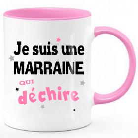 Mug Marraine qui déchire