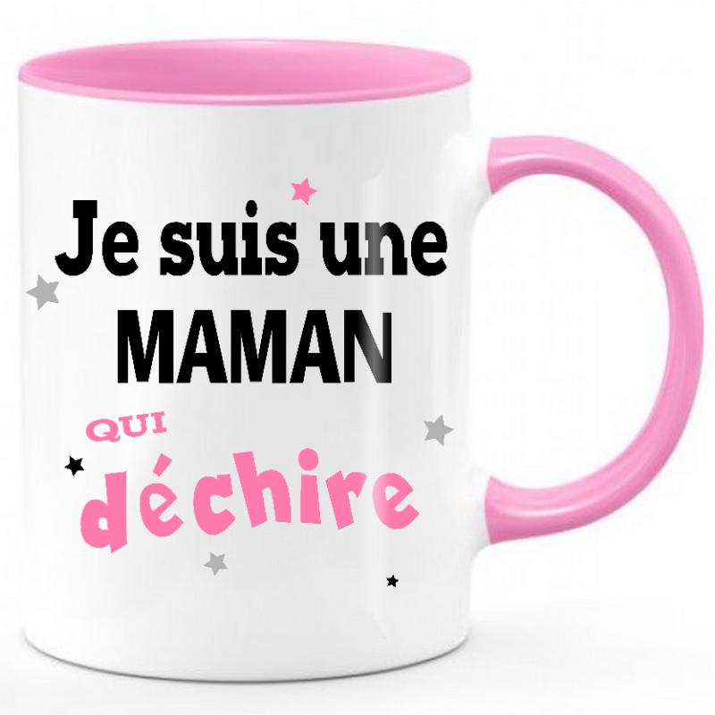 Mug Maman qui déchire
