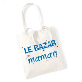 Tote bag Le bazar de maman - Angora - Em création