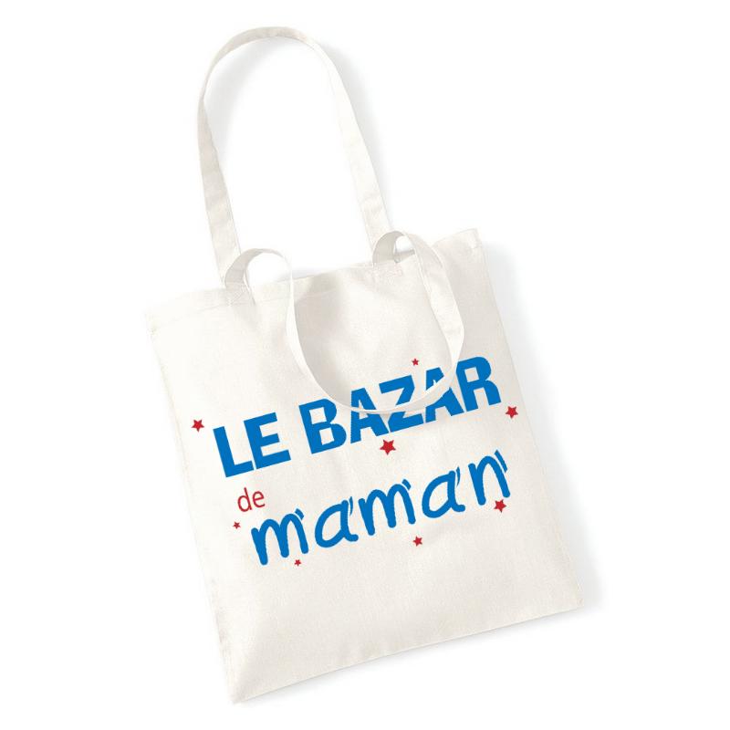Tote bag Le bazar de maman - Angora