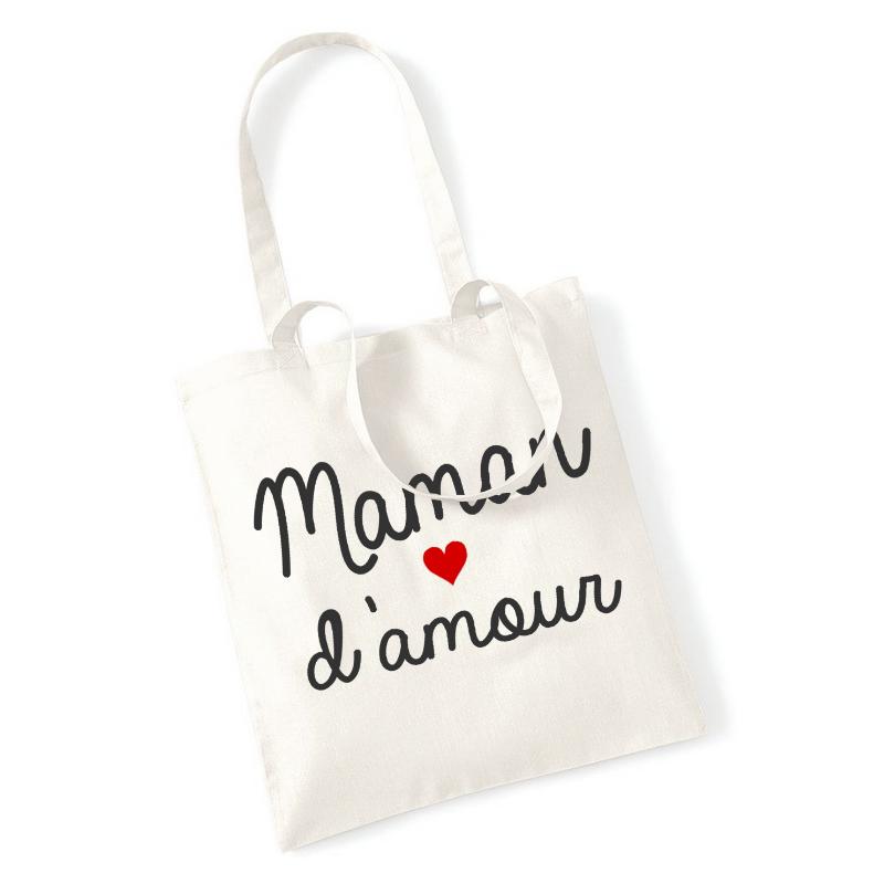 Tote bag Maman d'amour - Angora