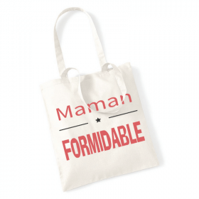 Tote bag Maman formidable - angora