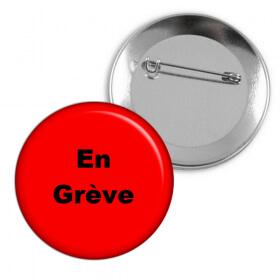 "50 Badges ""En grève"""