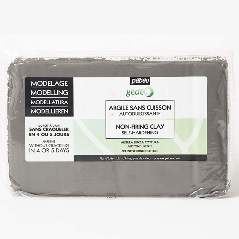 Argile Sans Cuisson Gris béton 1.5kg