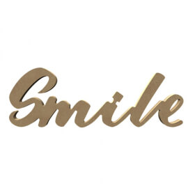 Mot Smile à décorer