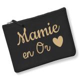 Pochette Mamie en Or - Cadeau anniversaire - Fête