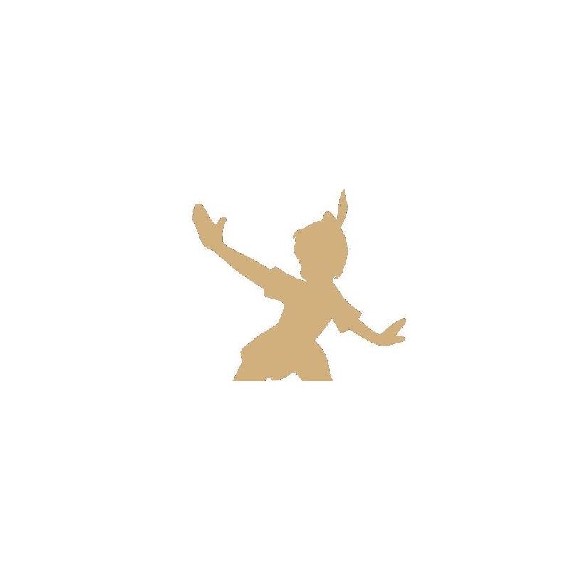 Support en bois à peindre Peter Pan - Em création