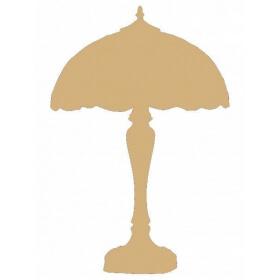 Support en bois à peindre lampe - Em création