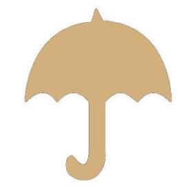 Déco à peindre Parapluie