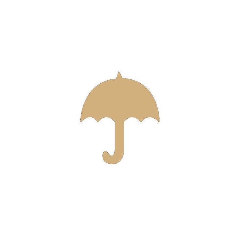 Support en bois à peindre parapluie - Em création