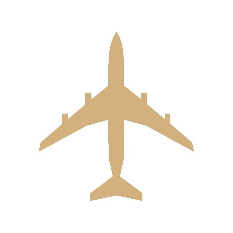 Avion à décorer