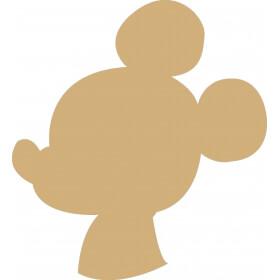 Déco à peindre Mickey 19x18