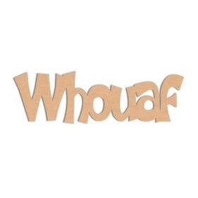 Décoration à peindre Whouaf