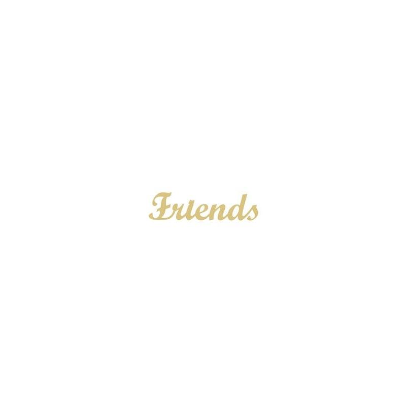 Décoration à peindre Friends - Em création