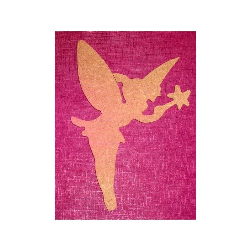 Support en bois à peindre fée - Em création