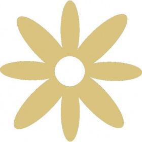 Décoration à peindre Fleur