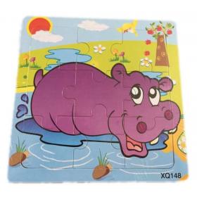 "Puzzle ""Hippopotame"""