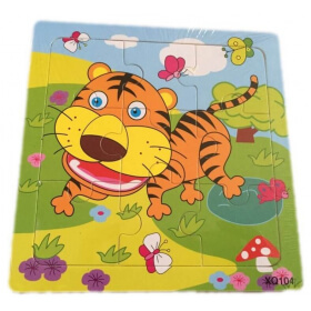 "Puzzle de la jungle ""Tigre"""