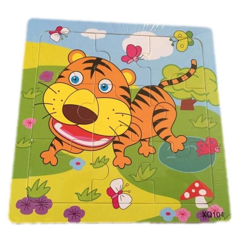 Puzzle pour enfant 'Tigre' - Em création