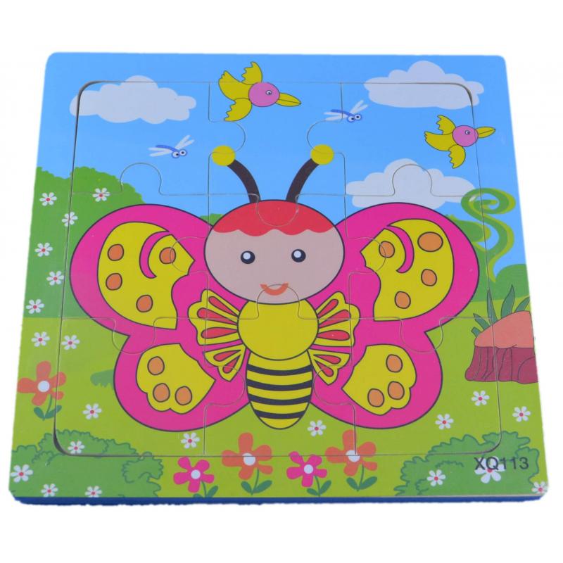 Puzzle pour enfant 'Papillon' - Em création