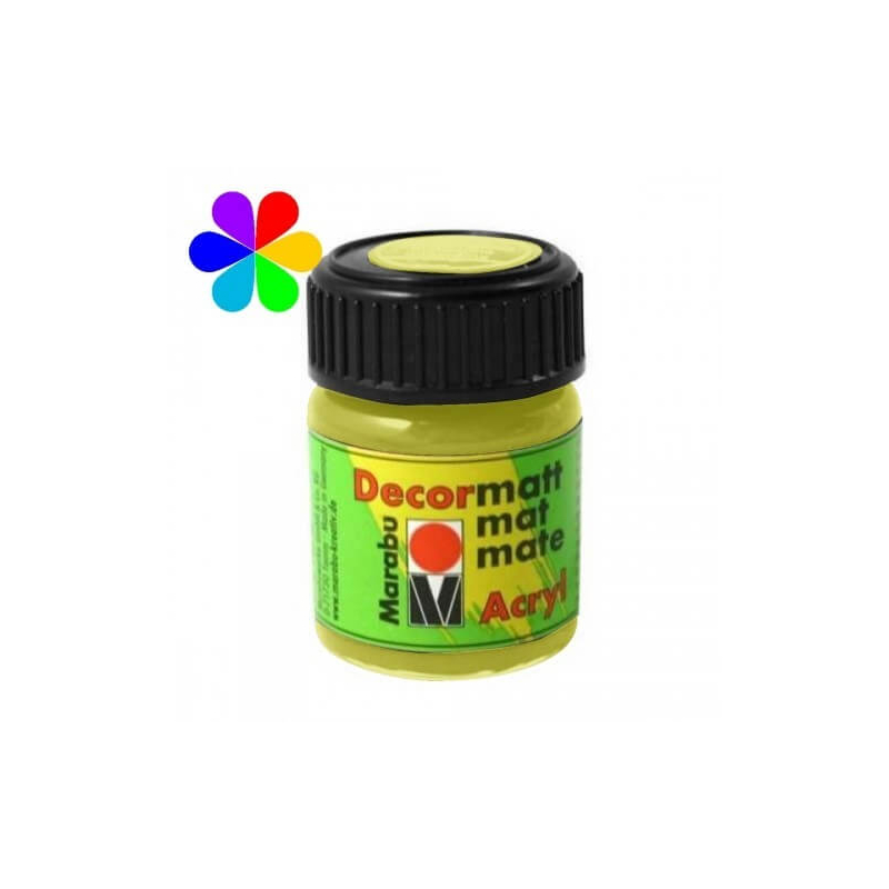 Reseda peinture décormatt - 15 ml - Marabu