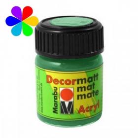 Vert clair peinture décormatt - 15 ml - Marabu