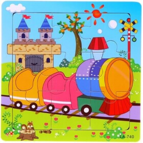 Puzzle pour enfant 'Train' - Em création