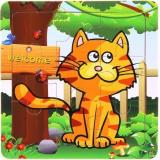 Puzzle pour enfant 'Chat' - Em création