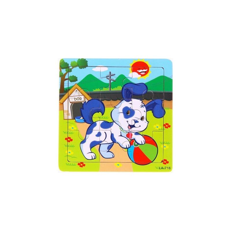 Puzzle pour enfant 'Chien' - Em création