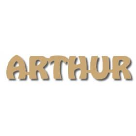Prénoms en bois à peindre Arthur - Em création