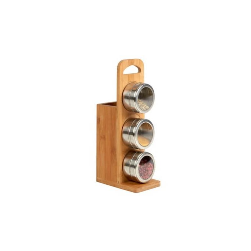 Porte ustensiles et 3 pots à épices - Em création