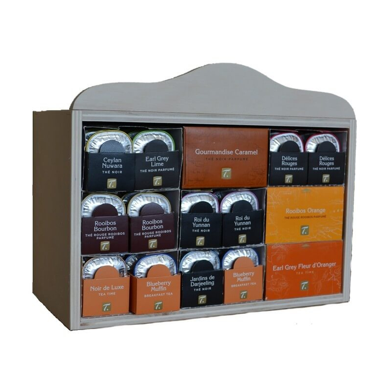 Distributeur pour 90 capsules Spécial-Thé
