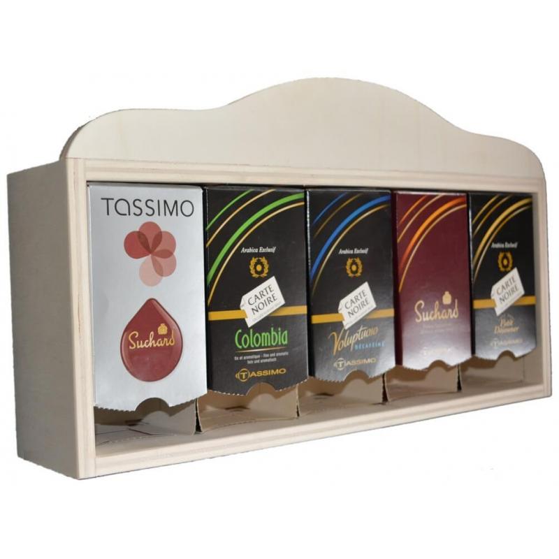 Distributeur X5 boîtes pour dosettes TASSIMO