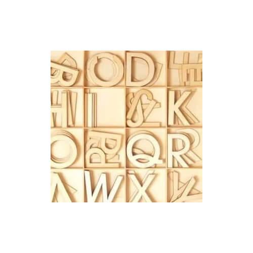 Alphabet à décorer