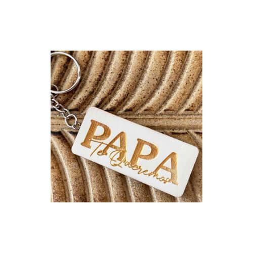 Porte clés papa